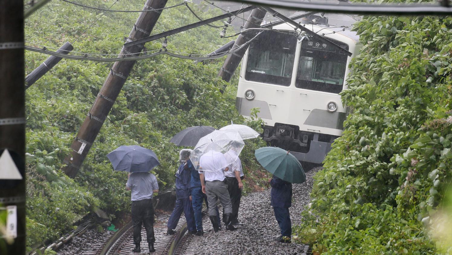Japon : Le grand Typhon Faxai s'abat sur la capitale