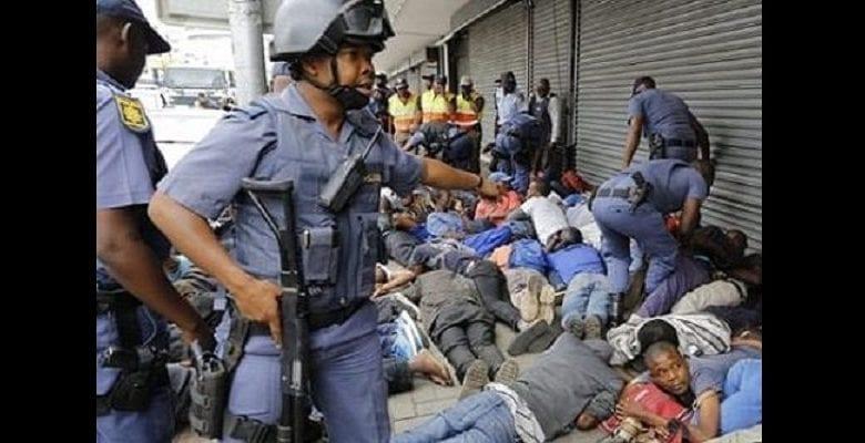 Attaques xénophobes : près de 500 Sud-Africains mis aux arrêts