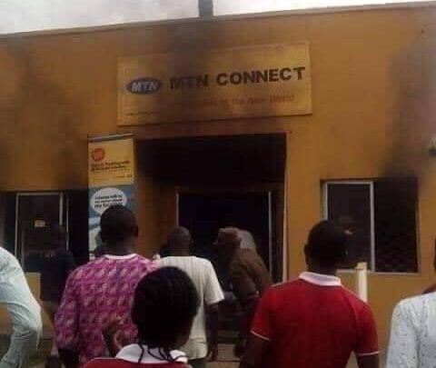 Attaques xénophobes en Afrique du Sud : Ses bureaux saccagés au Nigeria, MTN réagit!