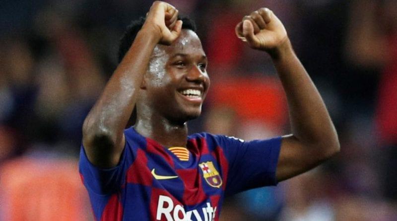 Barça : La pépite Bissau Guinéen Ansu Fati a choisi de jouer pour l'Espagne