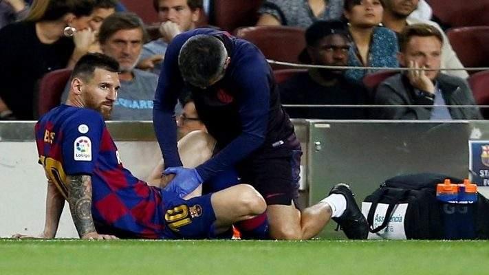 Blessure de Messi : Le verdict des médecins est finalement tombé