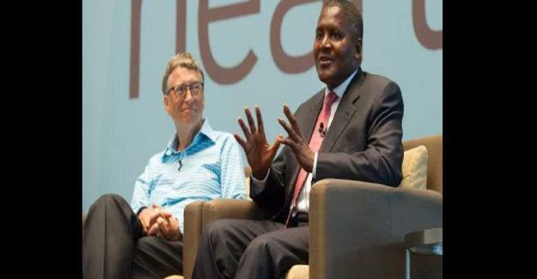 """Dangote:""""J'espère donner une grande partie de ma fortune en charité comme Bill Gates"""