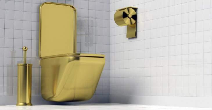 Des toilettes en or d'une valeur de plus de 1,6M$ ont été volées