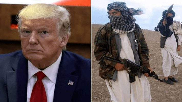 Donald Trump répond aux talibans après leurs menaces