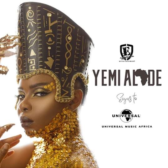 Yemi Alade rejoint l'écurie Universal Music Africa