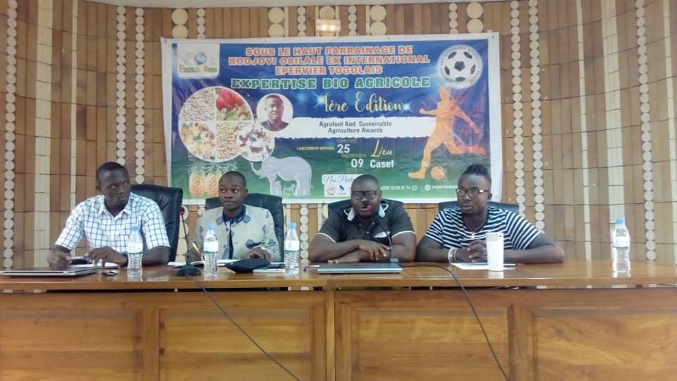 Kodjovi Obilalé parraine un tournoi de foot pour agriculteurs