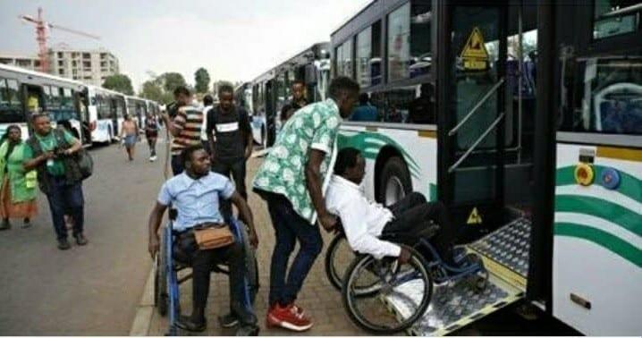 Rwanda : Mise en circulation de bus adaptés aux handicapés