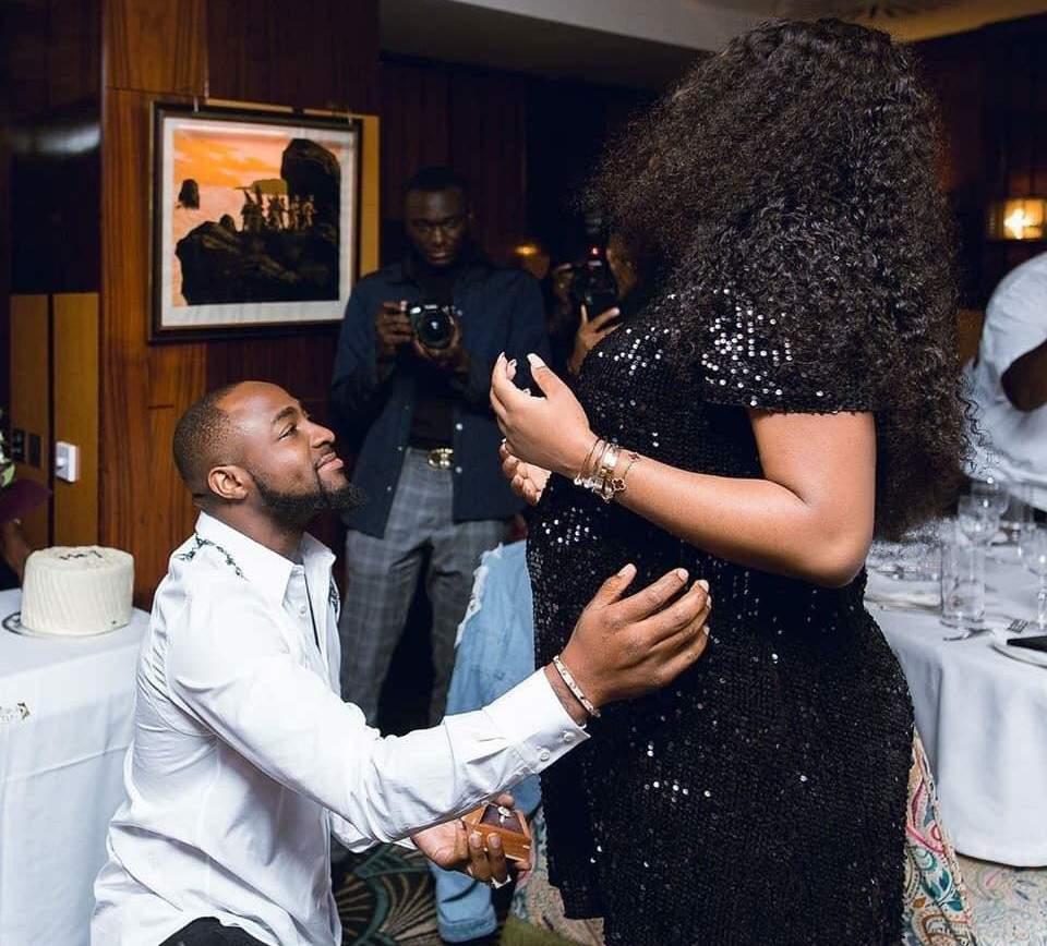 Davido demande officiellement Chioma  en mariage