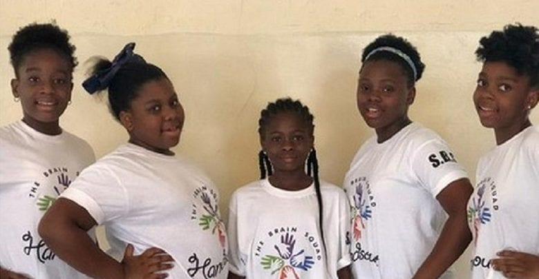 Inspiration: 5 filles africaines créent une application incroyable pour aider les élèves