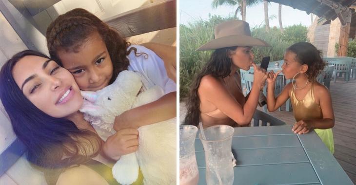 Kim Kardashian publie une photo avec sa fille qui choque plusieurs internautes