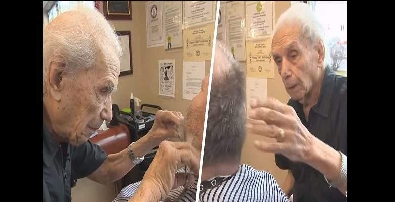 Le plus vieux coiffeur du monde meurt à 108 ans