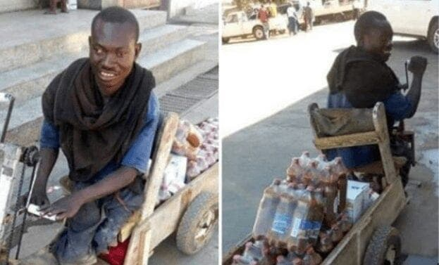 Malgré son handicap, Joseph refuse de mendier et opte pour l'entrepreneuriat