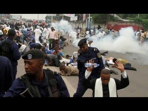 Manifestations à Kinshasa et à Lubumbashi contre les violences xénophobes sud-africaines