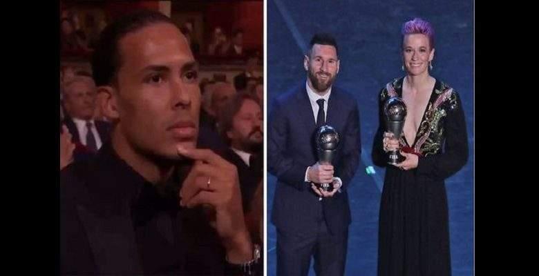 Meilleur joueur FIFA : la réaction de Virgil van Dijk après l'élection de Lionel Messi