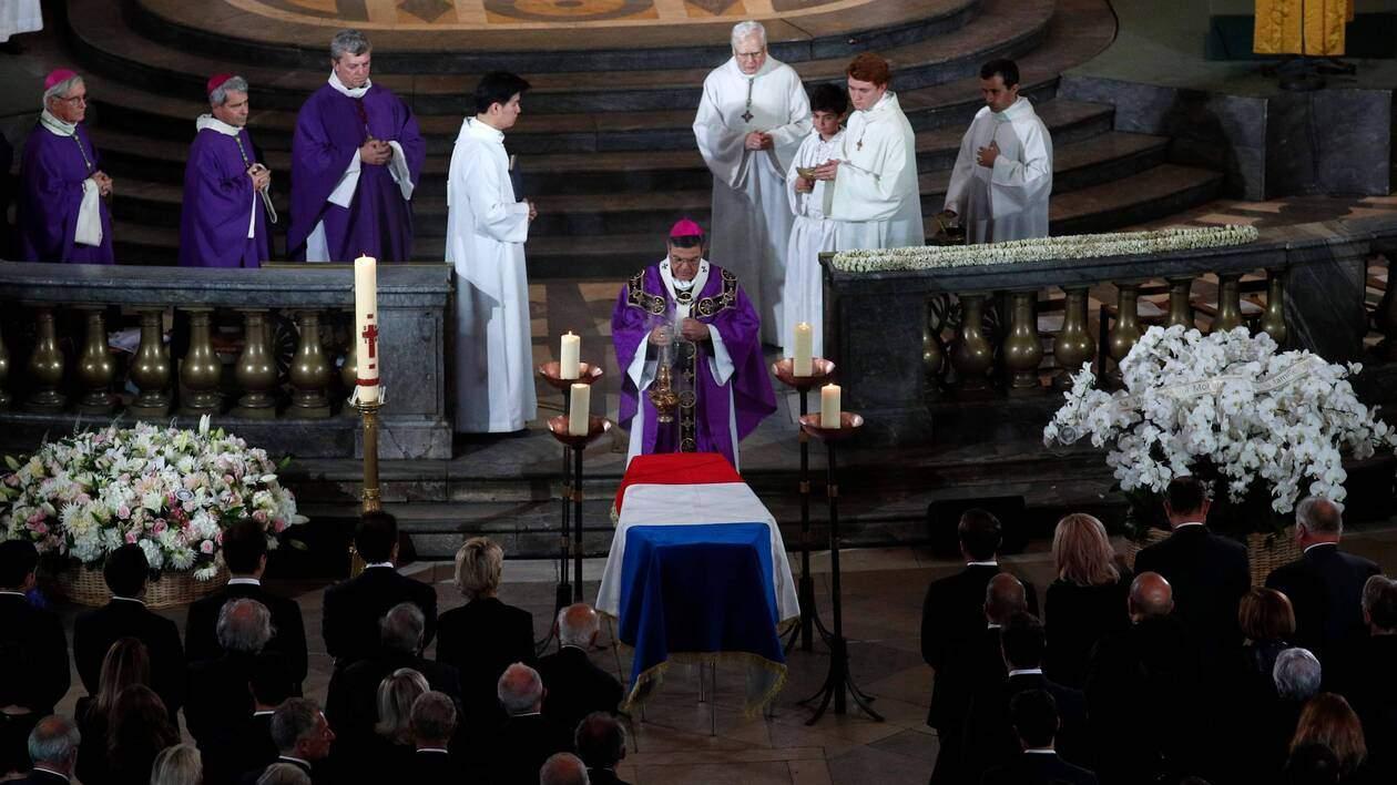 Images des Obsèques du président Jacques Chirac à Paris