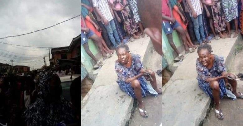 Nigeria : un oiseau devient une vieille femme en public