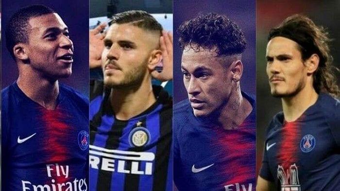 PSG: Mbappé, Icardi, Neymar, Cavani formeraient-ils la meilleure attaque d'Europe?