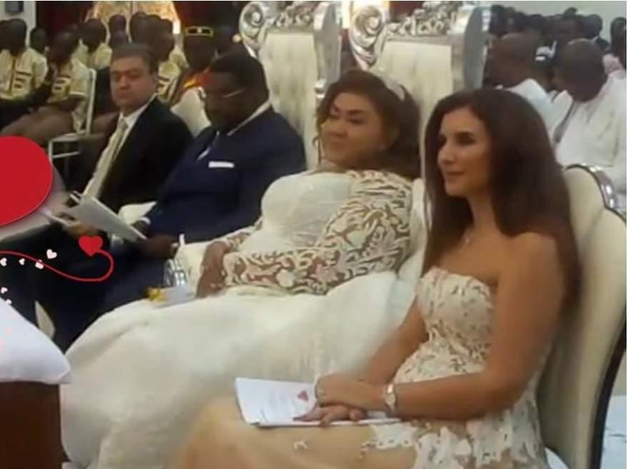 Pascal Akoussoulelou Bodjona Et Zaina Nasr Se Marient Officiellement