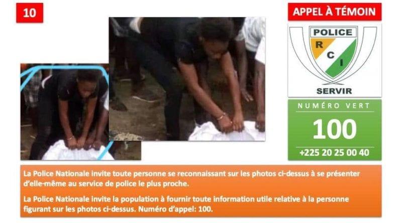 Profanation de la tombe de DJ Arafat: La police dévoile la liste des personnes recherchées (photos