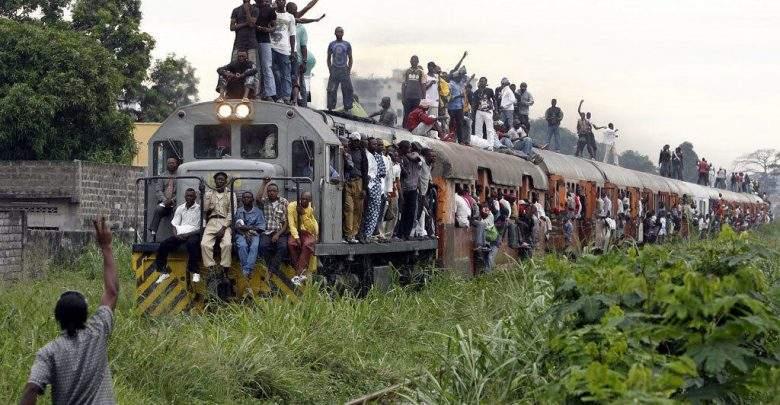 RD.Congo : un déraillement de train fait 50 morts