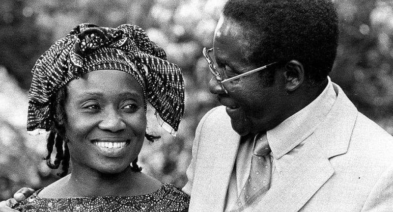 Saly Mugabé le premier amour de Robert…