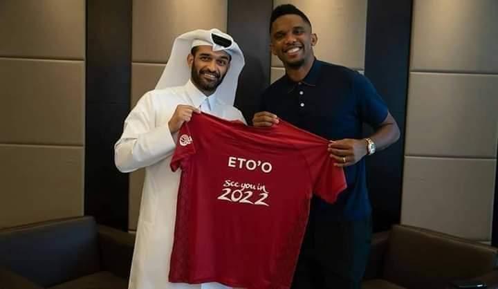 Samuel Eto'o désigné Ambassadeur de la coupe du monde 2022 au Qatar