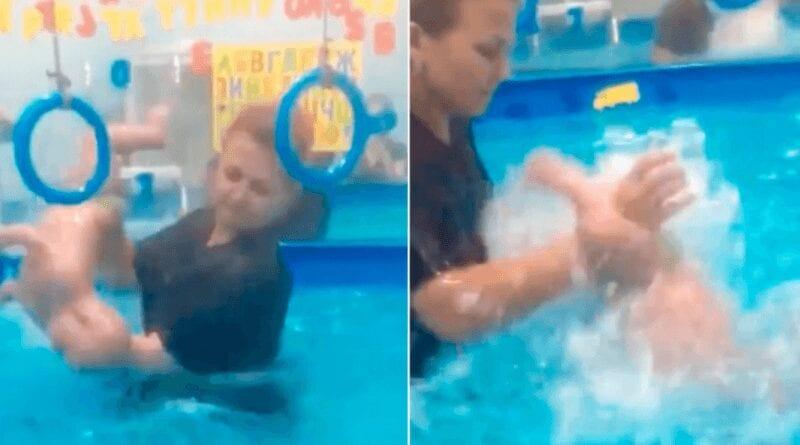 Sans coeur, cette coach de natation est accusée de violenter des bébés handicapés