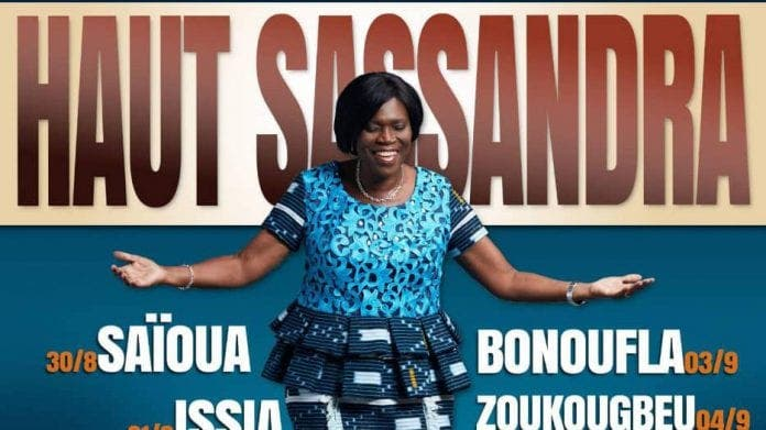 Simone Gbagbo dans le haut Sassandra: « Le FPI ira à toutes les élections »