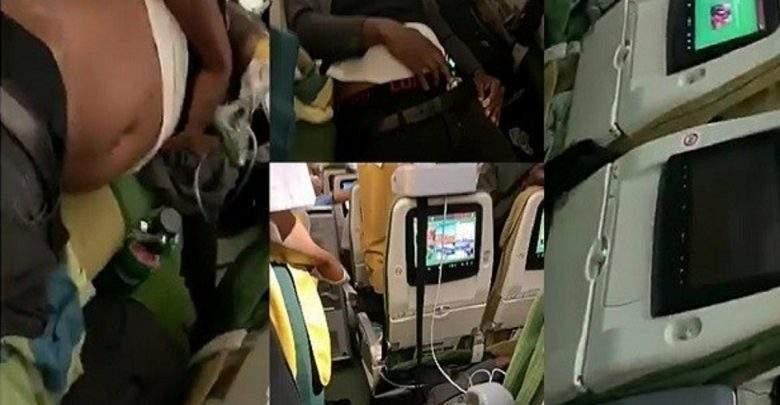 Vidéo: 2 trafiquants nigérians ayant avalé de la drogue meurent dans l'avion