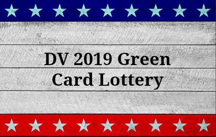 Les inscriptions pour la loterie à la carte verte 2021 débutent en octobre