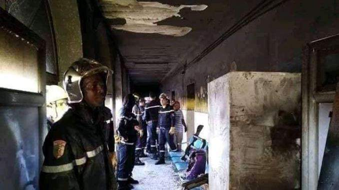Algérie: 8 bébés meurent dans l'incendie d'un hôpital