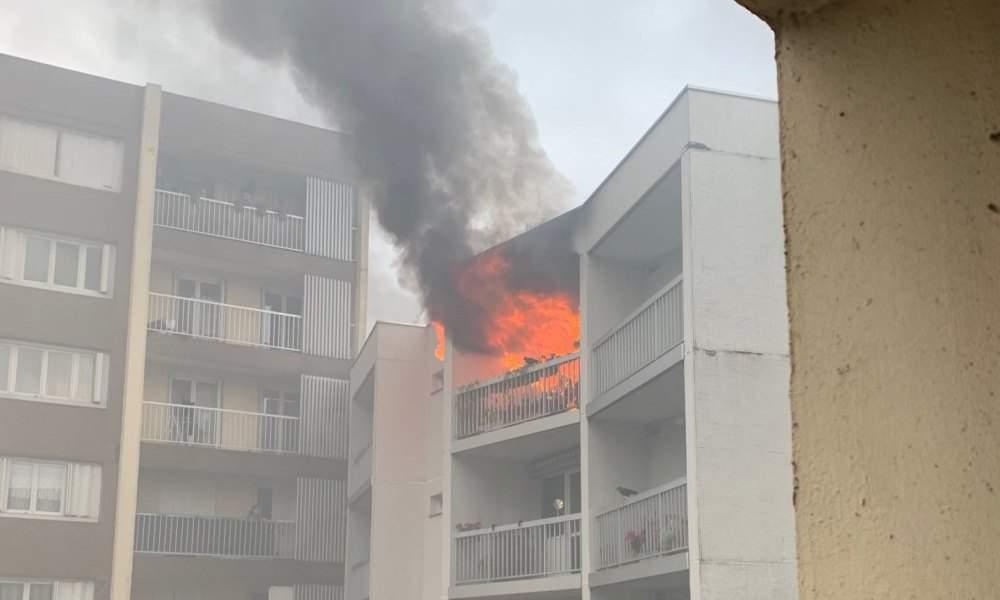 Paris: un incendie dans une maison de retraite fait trois blessés, dont un grave