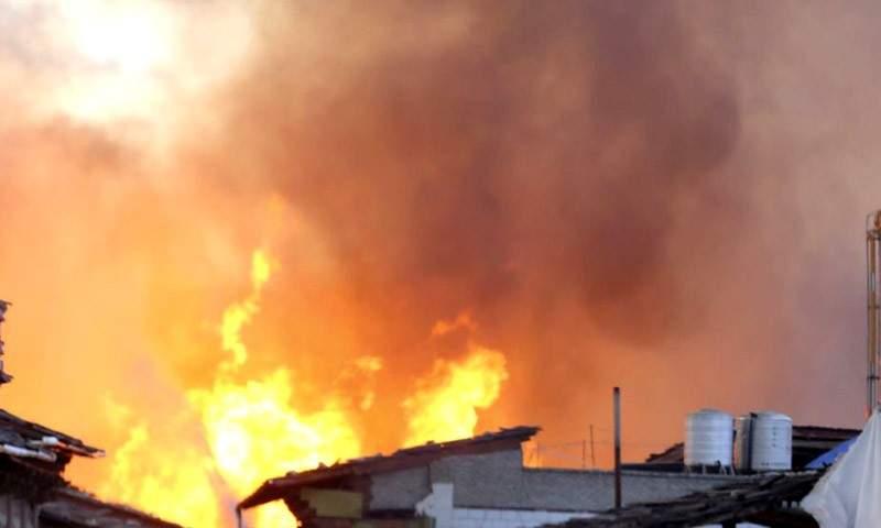 Incendie à Bukavu: Des centaines de maisons consumées