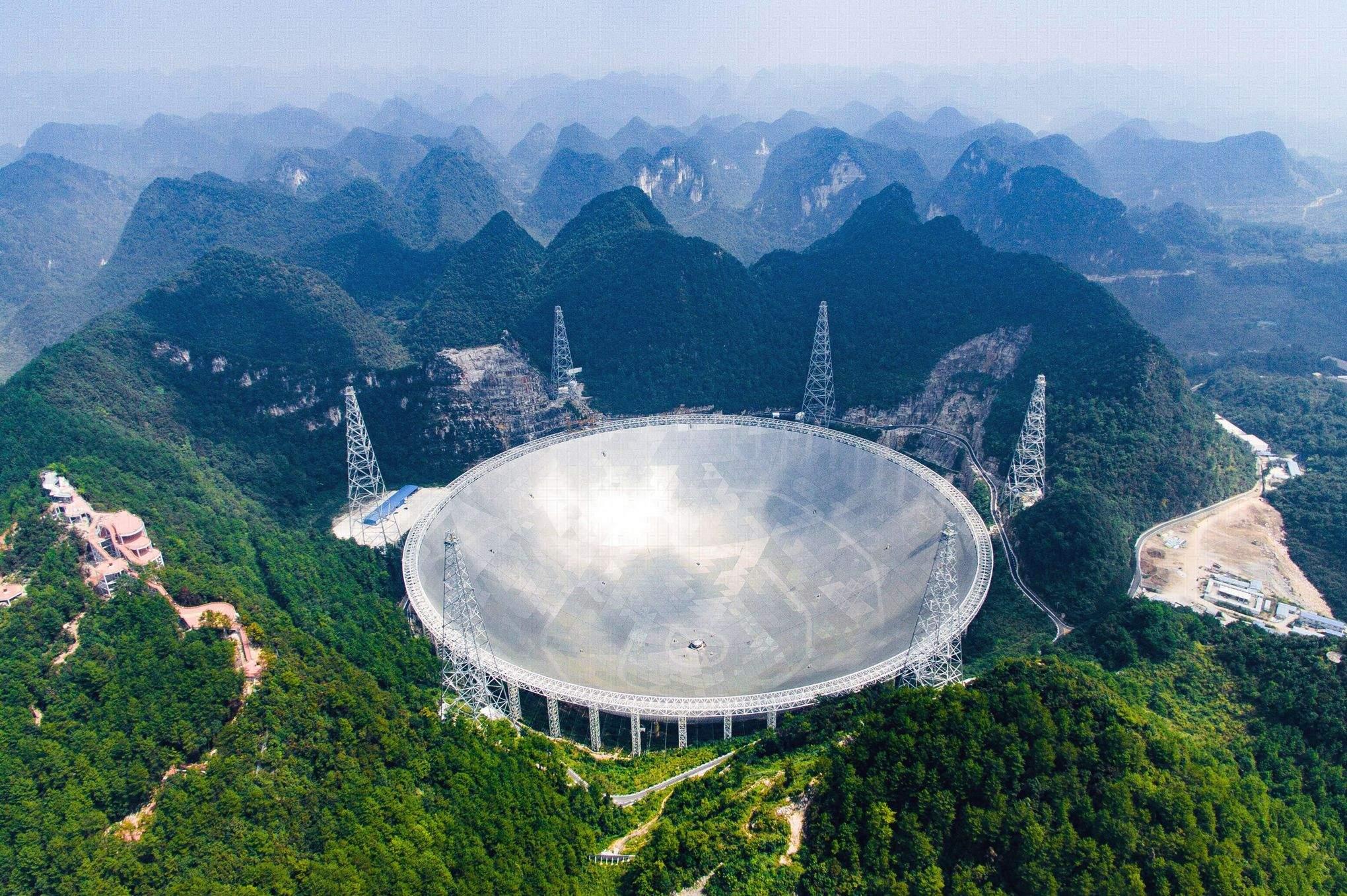 Un télescope Chinois capte des signaux mystérieux dans l'espace