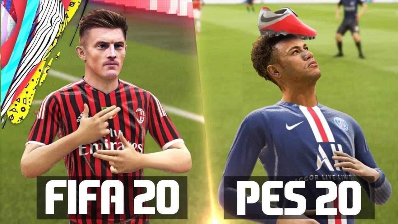 Voici pourquoi Pes2020 est meilleur cette année que la Fifa 2020