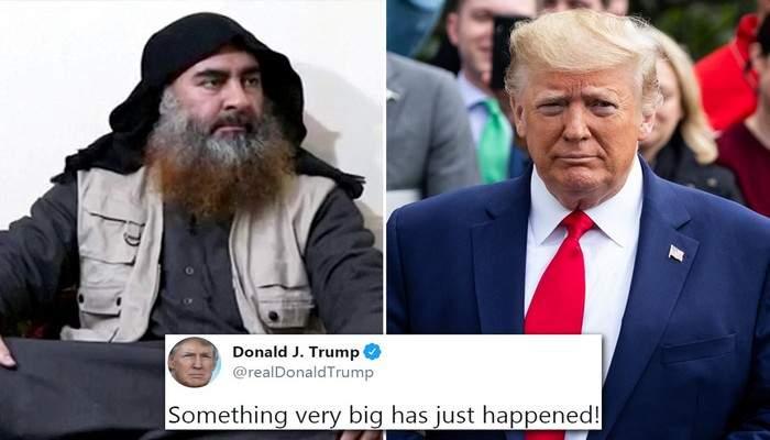 Trump annonce la mort d'Abu Bakr al-Baghdadi, chef de l'Etat islamique…La Russie réagit!