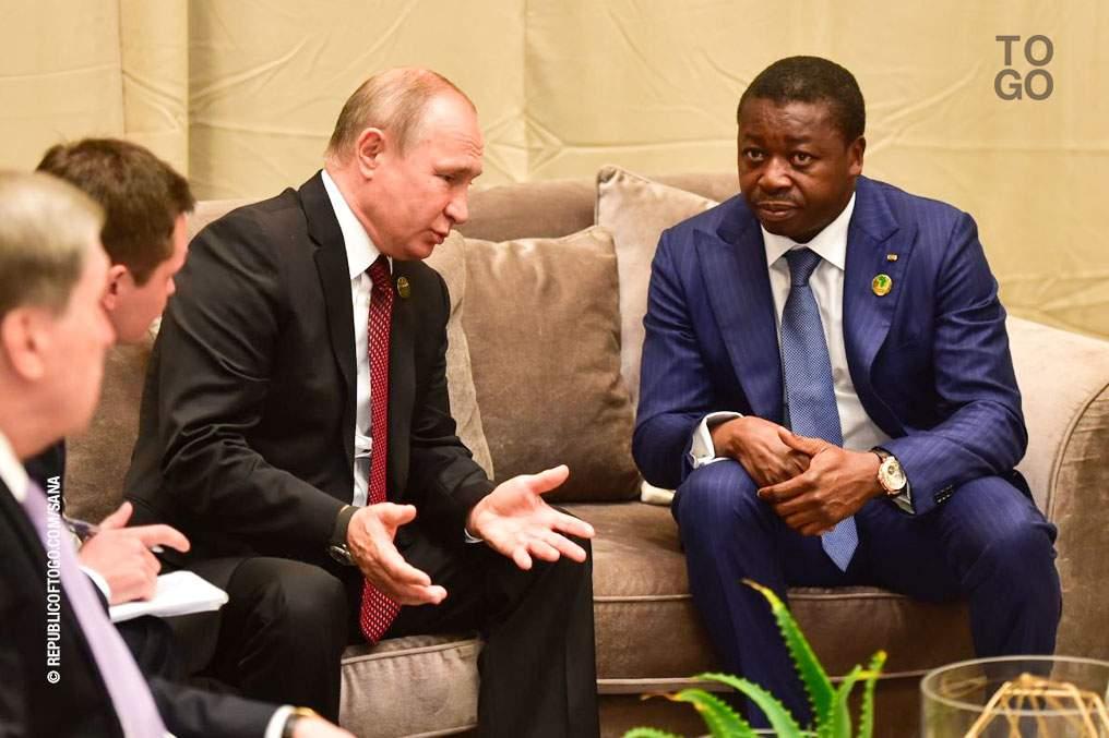 Faure Gnassingbé annoncé en Russie