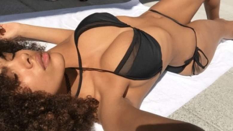 Tina Kunakey se dévoile en lingerie sur Instagram