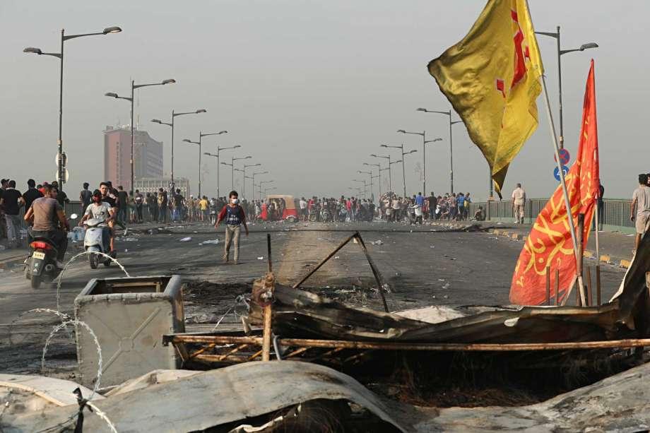 Irak : les manifestations dégénèrent et font 73 morts et plus de 3000 blessés