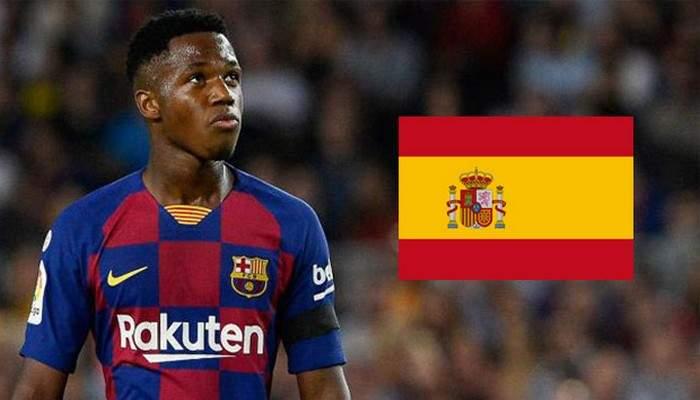 Ansu Fati: Voici pourquoi il ne joue pas encore avec l'Espagne malgré sa naturalisation