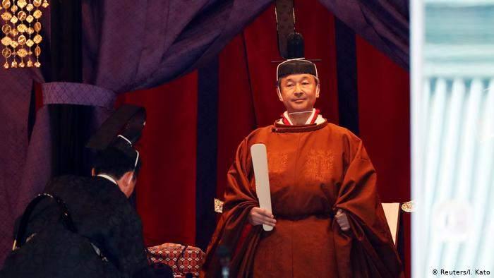 Japon: le nouvel empereur Naruhito proclame sa montée sur le trône