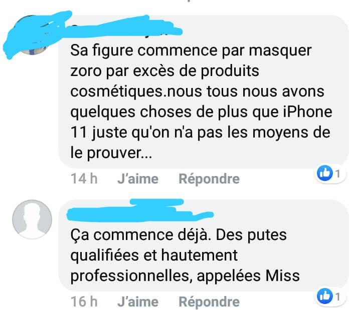 Toujours présente sur les réseaux sociaux, la Miss Togo 2018 se fait descendre par les Togolais