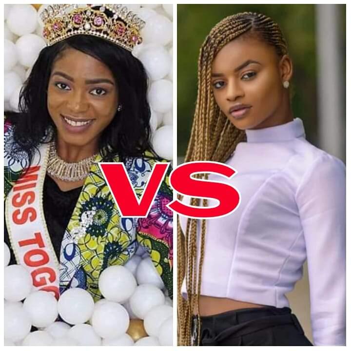 Miss Togo 2019 Aïda Yombo clash sa prédécésseure Ichabatou