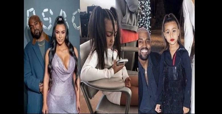 Kanye West interdit à sa fille de se maquiller et de porter des hauts courts. Kim réagit!