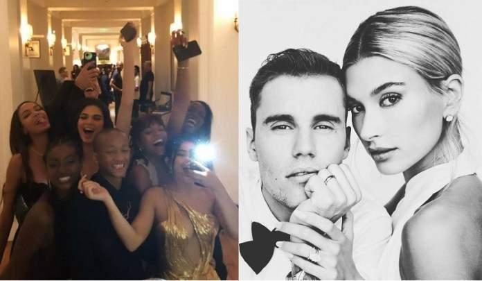 Kylie, Kendall Jenner et un lot de célébrités au mariage de Justin Bieber et Hailey Baldwin