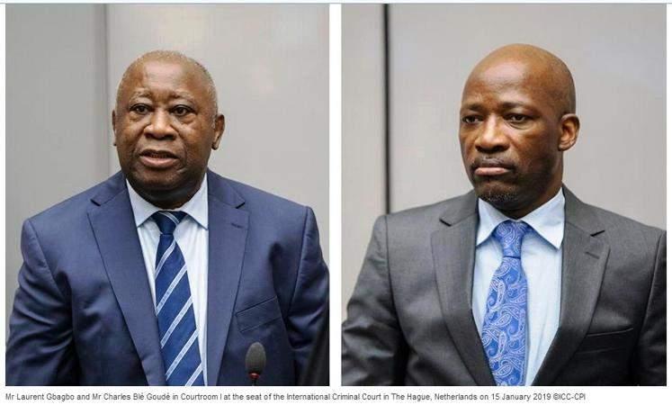La CPI donne raison à Laurent Gbagbo et Charles Blé Goudé