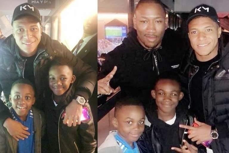 People : Mokobe réalise le rêve des enfants de DJ Arafat avec Kyllian Mbappé