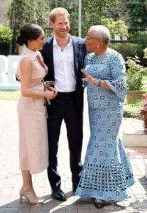 Meghan Markle Le Prince Harry Et Graca Machel