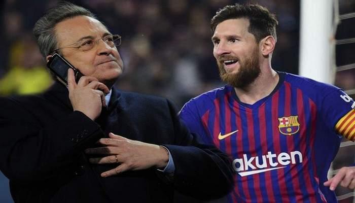 """Messi: """"Florentino Perez tenterait quelque chose pour Neymar"""""""