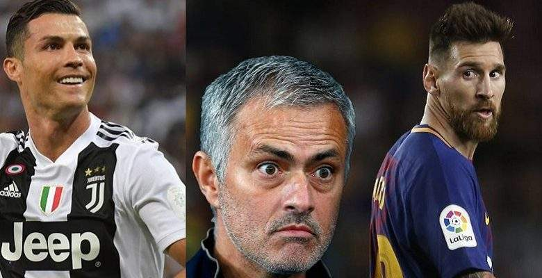 Mourinho désigne le joueur le plus fort que Messi et Ronaldo